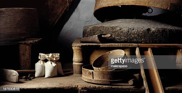 old flour mill - mill stock pictures, royalty-free photos & images