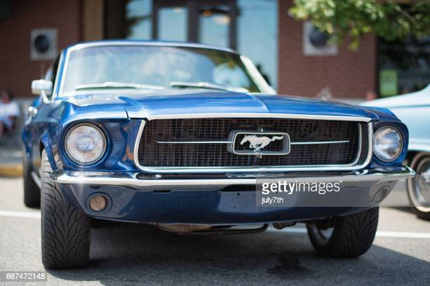 old ford mustang - ford mustang stock photos and pictures