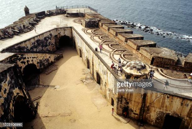 Old Fort El Morro on February 10 1991 in San Juan Puerto Rico