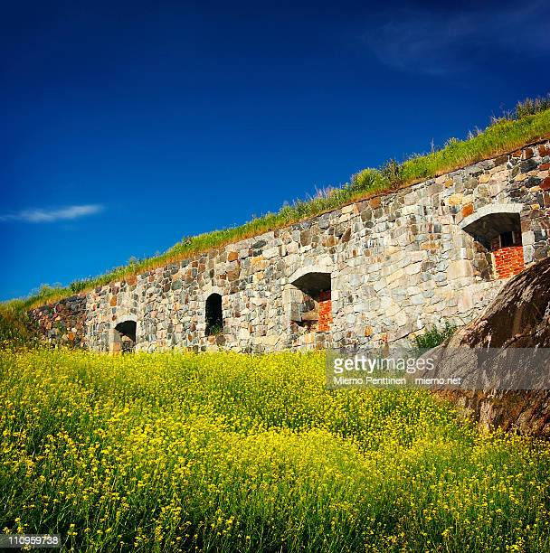 Old fortifications in Suomenlinna
