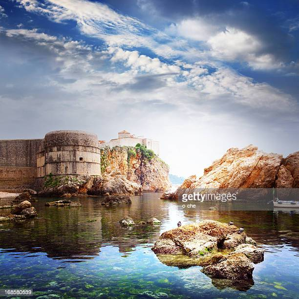Old fortress, Dubrovnic, Croatia, Europe
