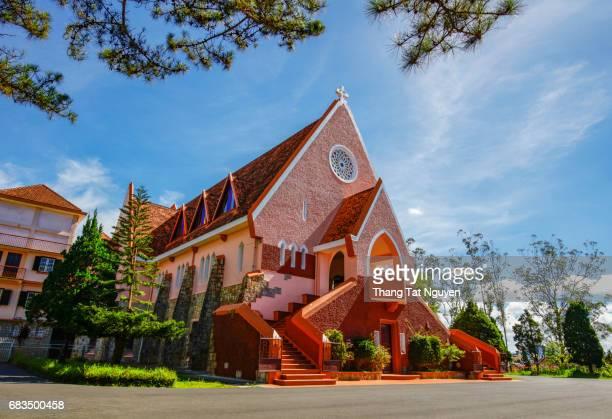 Old French church - Domaine de Marie Church in Da Lat
