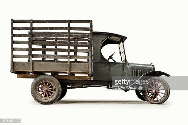 old frieght truck - eric van den brulle stock pictures, royalty-free photos & images