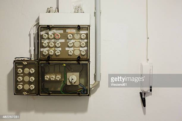Fuse Box Premium Pictures, Photos, & Images - Getty Images Old Fuse Box on
