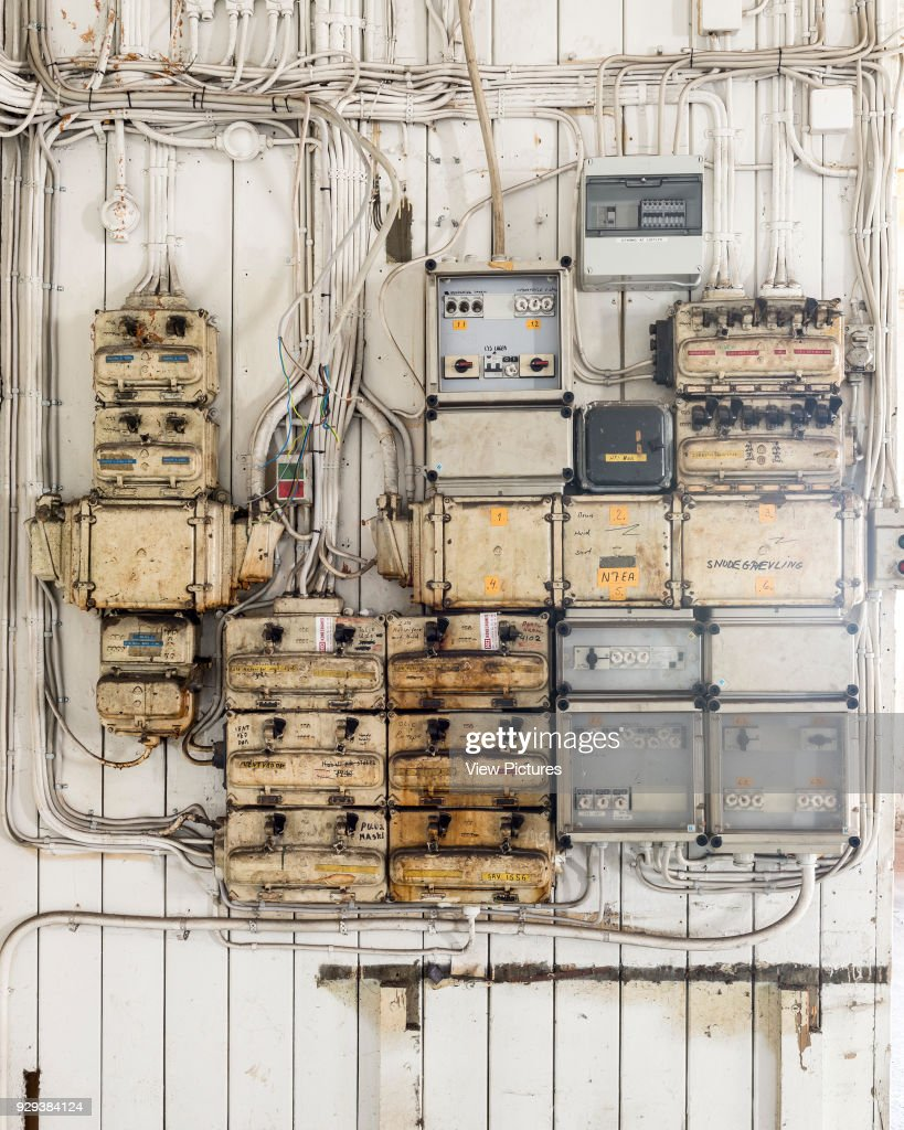 Old Fuse Boxes Helsingr Shipyard Buildings Denmark Electrical Architect Unknown