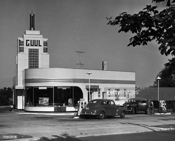 Old gasoline station