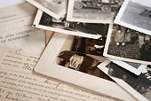 Old Genealogy Family History Photographs and Documents 1