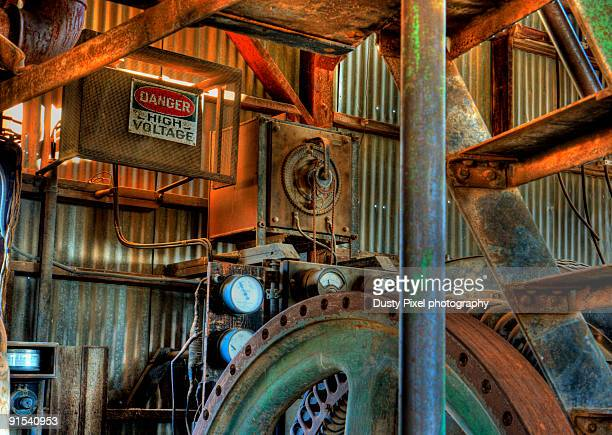 Old Generator from an Arizona Gold Mine