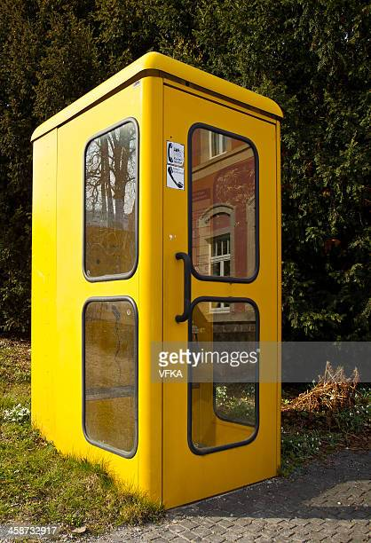 Old german telephone booth (Telefonzelle)