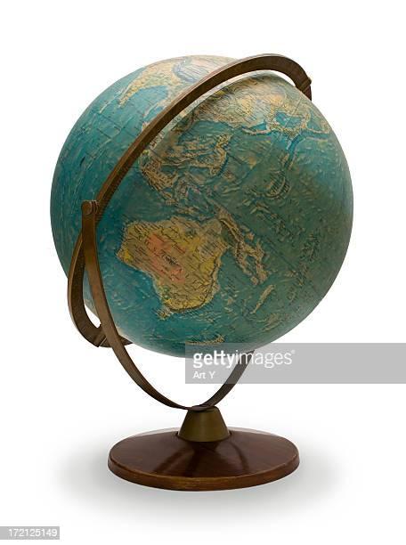 Old globe, Asien, Australien