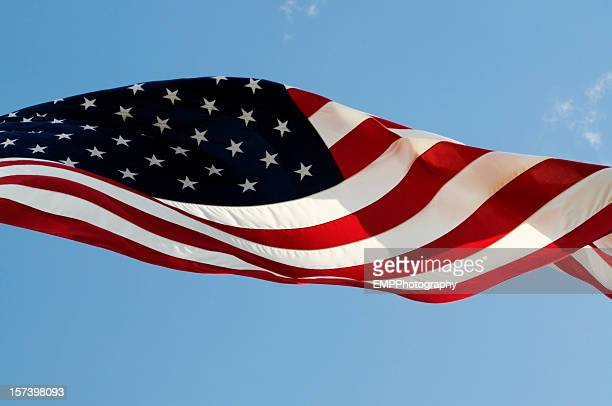 Old Glory Across The Sky