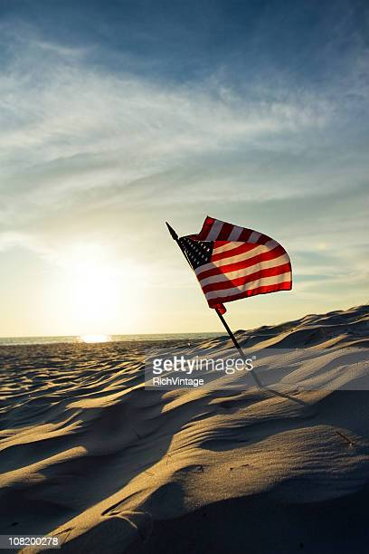 old glory - american flag ocean stock pictures, royalty-free photos & images