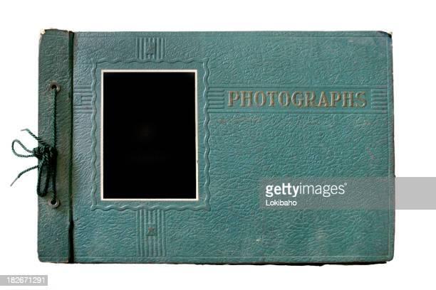 Old Green Photo Album