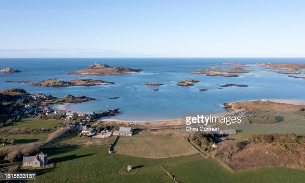 Old Grimsby, Tresco, Isles Of Scilly on April 8, 2021.