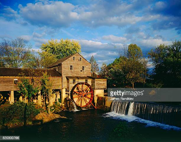 old grist mill - pigeon forge stock pictures, royalty-free photos & images