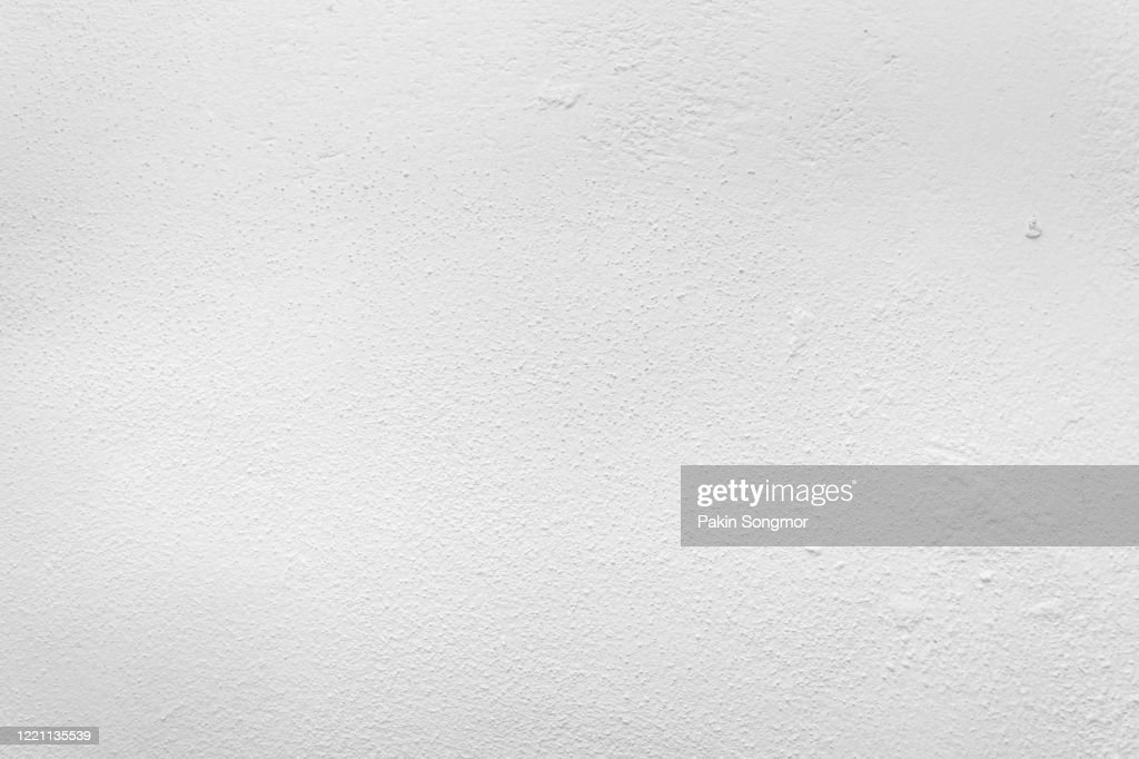 Old grunge white wall texture background. : Stock Photo