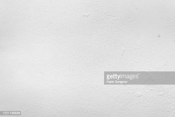 old grunge white wall texture background. - wall building feature stock pictures, royalty-free photos & images