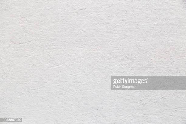 old grunge white wall texture background. - pared fotografías e imágenes de stock