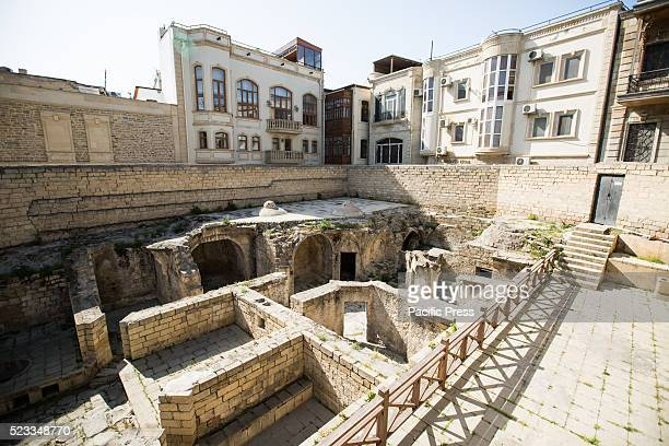 Old hamam at the Shirvanshah Palace UNESCO World Heritage Site Baku