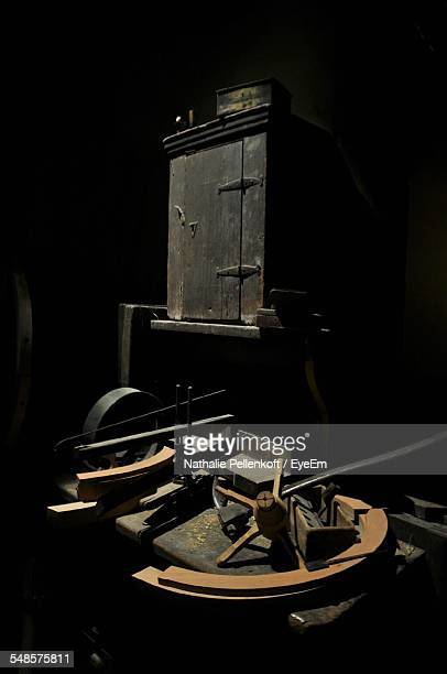 old hand mill - nathalie pellenkoft stock pictures, royalty-free photos & images
