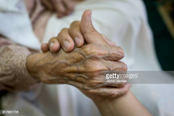 Old hands help and love