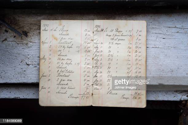 old handwriting document - old book stock pictures, royalty-free photos & images