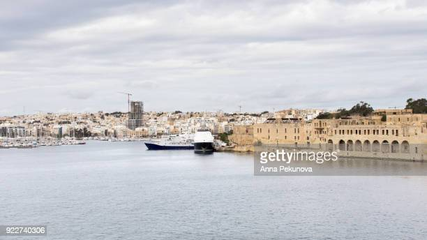 Old harbor at Manoel Island, Malta
