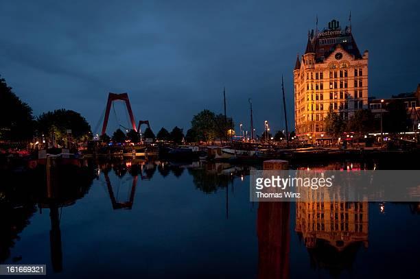 Old Harbor in Rotterdam