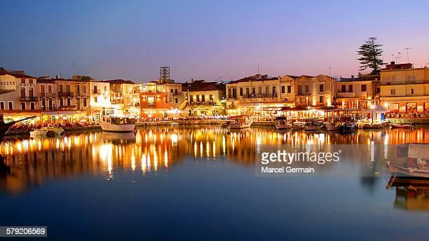 Old harbor, Rethymno, Crete (Greece)