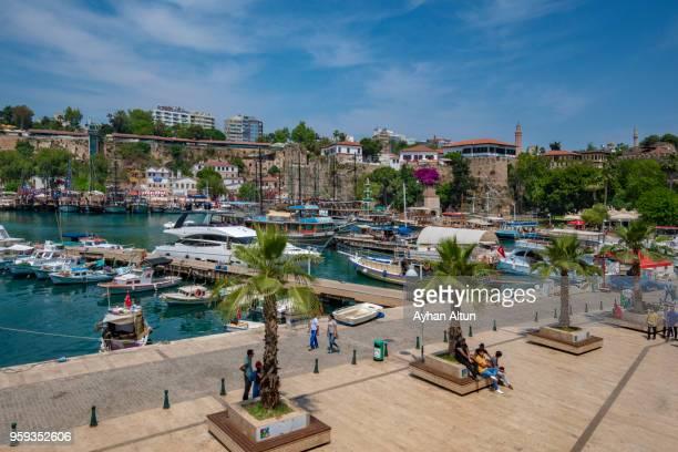 Old Harbour in Kaleici of Antalya,Mediterranian coast ,Southern Turkey