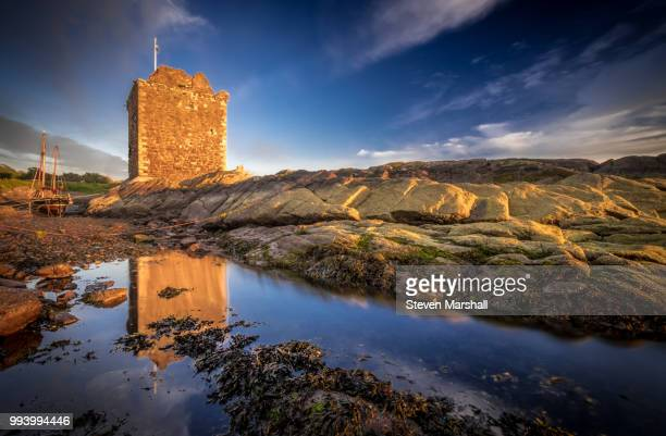 Old Harbour - Portencross Castle, North Ayrshire