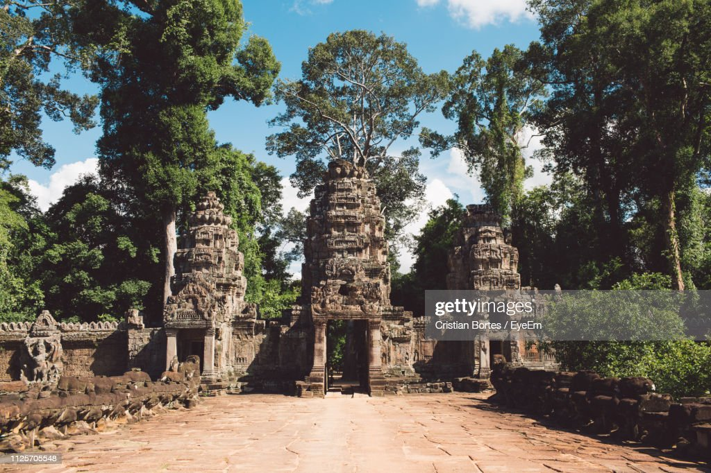 Old Historical Building In Forest : Stock Photo