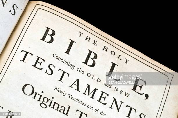 old holy bible - old testament stock pictures, royalty-free photos & images