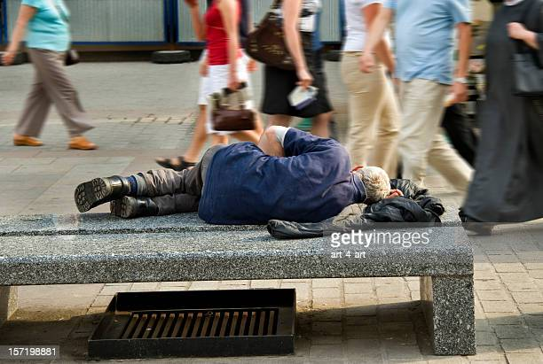 old homeless man - homeless stock photos and pictures