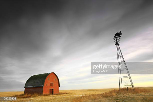 Old Homestead on the Great Plains