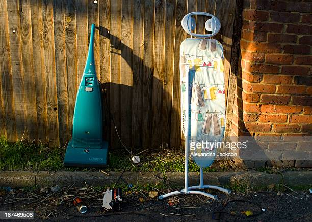 CONTENT] Old hoover and ironing board flytipped in alleyway