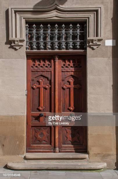 Old Hospital Door