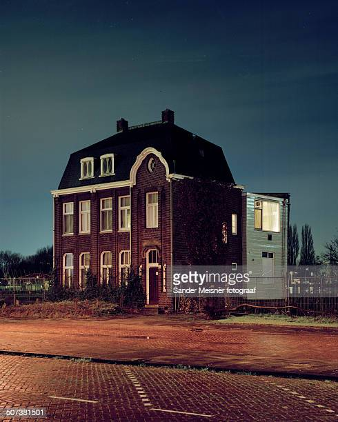 Old house at the edge of Amsterdam.