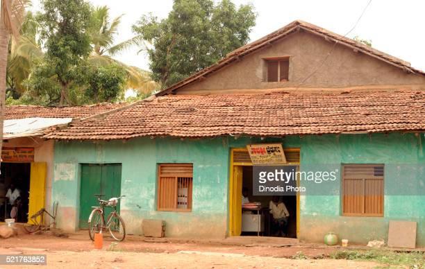 Old house in dandeli at karnataka, india, Asia