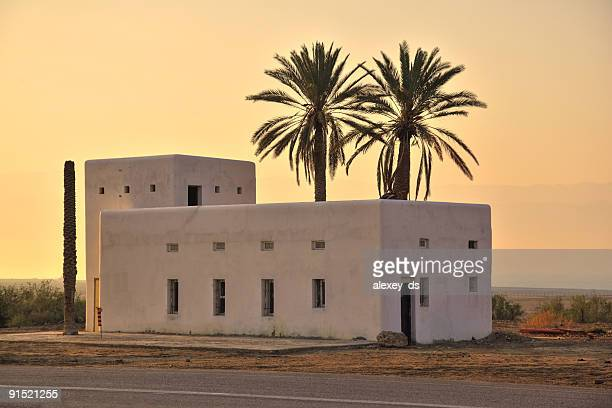 Old house in the desert
