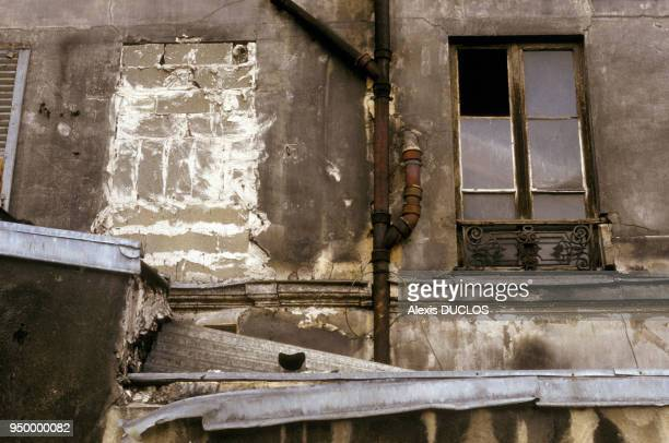 Old house in the Ilot Chalon near the Gare de Lyon in September 1987 in Paris France