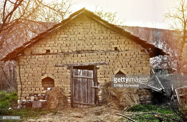old house - macedonia country stock pictures, royalty-free photos & images