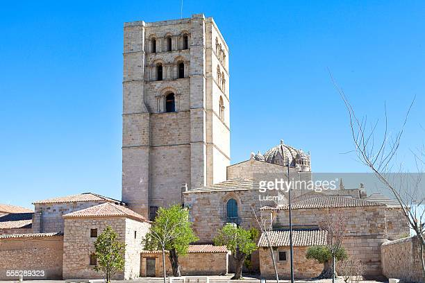 Old houses and Tower of the Cathedral of Zamora