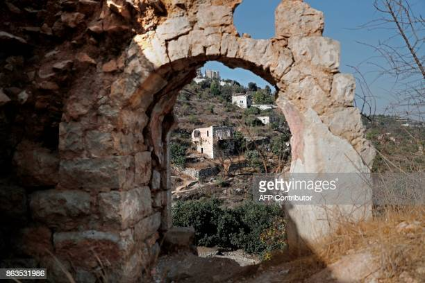 Old houses are seen in the Palestinian village of Lifta which was abandoned during fighting in the 1948 ArabIsraeli war on the outskirts of Jerusalem...