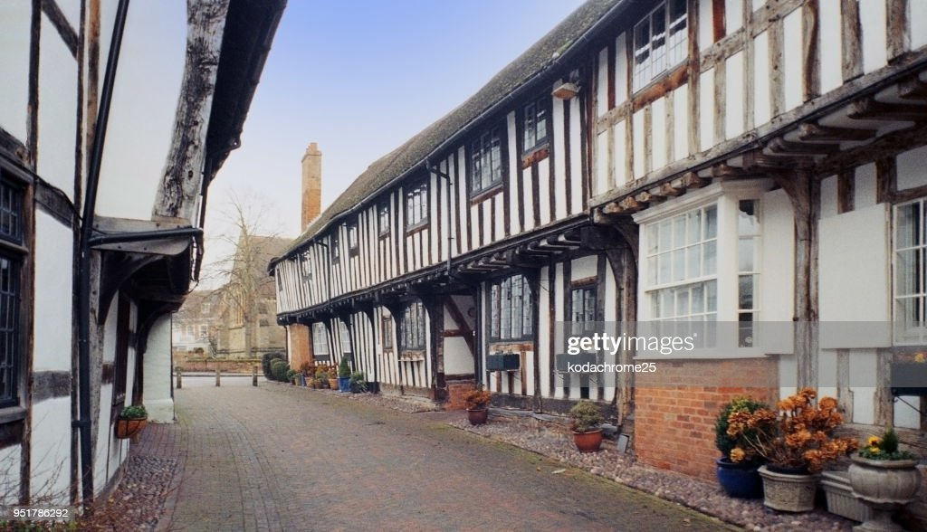 Old Houses England Uk Heritage History Stock Photo - Getty