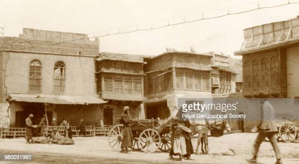 Old houses in Baghdad Iraq 1930