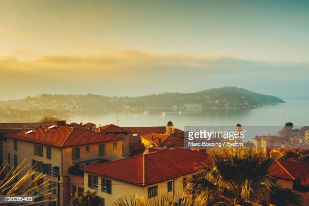 old houses in france - french riviera stock pictures, royalty-free photos & images