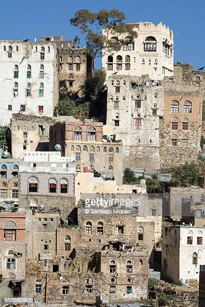 old houses in jibla - ibrahim babangida stock pictures, royalty-free photos & images