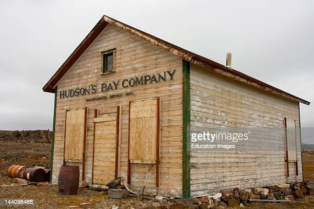Old Hudson'S Bay Post Fort Ross Nunavut Arctic Canada