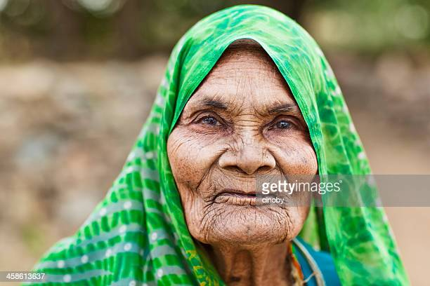 old indian farmer woman - very ugly women stock photos and pictures